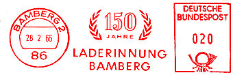 Laderinnung 1966
